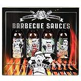 Modern Gourmet Foods - Original Stormtrooper BBQ Saucen Set - Geschenk-Set Mit 4 Grill-Saucen à 45 g