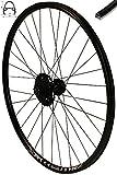 Redondo 28 Zoll Hinterrad Laufrad Felge Schwarz Disc + 8-Fach Shimano Kassette