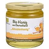 vitameister BIO Akazienhonig aus Brandenburg (Deutschland), 500g, unbehandelt, Bio Honig direkt aus Märkisch Oderland
