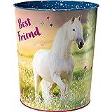 Spiegelburg 14520 Papierkorb 'Best Friend' Pferdefreunde