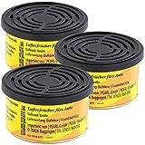 PEARL Autolufterfrischer: 3er-Set Duftdosen fürs Auto, Duftnote Vanille, 60 Tage (Autoduft-Dose)