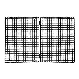 Kaiser Patisserie Auskühlgitter, faltbar 23-45,5 x 30 cm, beschichtet, leichtes Lösen, extra große Auskühlfläche, platzsparend