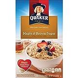 Quaker Instant Oatmeal Maple & Brown Sugar 430g