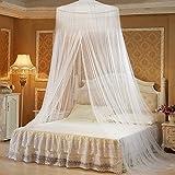 babytowns 250 * 60 cm Moskitonetz Groß Mückennetz,Insektennetz Betthimmel für Einzelbett, Feinmaschig Mesh,für Zuhause auch auf der Reise