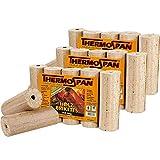 THERMOSPAN Premium Holzbriketts, natürliche Rohstofe, ohne Bindemittel und Zusatzstoffe, 3x 10 Kg