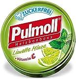 Pulmoll Pastillen Set mit Limette & Minze Glutenfrei Laktosefrei Vegan 10x45gr