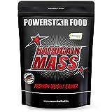 HARDGAIN MASS | 1600g | PREMIUM WEIGHT GAINER | Ohne Süßstoffe, Aromen & Zuckerzusatz | Höchster Proteingehalt 27% | Mit Kreatin (Creapure) | Masse, Kraft & schneller Muskelaufbau | Natural