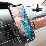 Avolare Handyhalterung Auto Handyhalter fürs Auto Lüftung Universal Handy KFZ Halterungen für iPhone Samsung Huawei Sony LG und mehere Smartphone oder GPS-Gerät(Grau)
