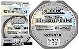 Konger Angelschnur World Champion Fluorocarbon Coated 0,10-0,30mm/150m Monofile Schnur super stark ! (0,16mm / 4,10kg)