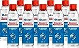 blupalu   Wasserbett Conditioner I 10 x 250 ml Conditionierer   jetzt mit 9g/100g Wirkstoff Poly(Dimethylamine-Co-Epichlorohydrin)   Konditionierer für Wasserbetten I Wasserbett-Zubehör mit Bubble Stop