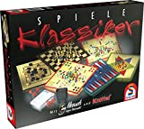 Schmidt Spiele 49120 Spiele Klassiker, Spielesammlung, bunt