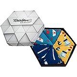 Rainbow Socks - Damen Herren Lustiges Socken Box Geschenk für Krankenschwestern - 3 Paar - Thermometer Tabletten Hut Krankenschwester - Größen 36-40
