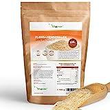 Vit4ever Flohsamenschalen - 1100 g / 1,1 kg - 99% Reinheit - Laborgeprüfte indische Flohsamen Schalen - Low-Carb - Ballaststoffreich - Ohne Zusätze - Vegan