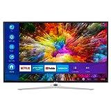 MEDION X15511 138,8 cm (55 Zoll) UHD Fernseher (Smart-TV, 4K Ultra HD, Dolby Vision HDR, Micro Dimming MEMC, Netflix, Prime Video, WLAN,Triple Tuner, DTS, PVR, Bluetooth)