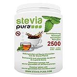 steviapura   Stevia Tabs Sparpackung - 2500 Stück Stevia Tabletten + GRATIS Dosierspender - 150g