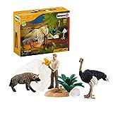 Schleich 42504 Wild Life Spielset - Angriff der Hyäne, Spielzeug ab 3 Jahren