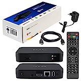 MAG 322w1 Original Infomir & HB-DIGITAL IPTV Set TOP Box mit WLAN WiFi integriert 150Mbps (802.11 b/g/n) Multimedia Player Internet TV IP Receiver HEVC H.256 Nachfolger von MAG 254 + HDMI Kabel