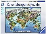 Ravensburger 16683 Puzzle World Map, Mehrfarbig, 38.5' x 29.5'