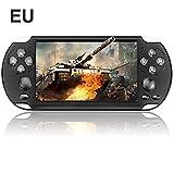 Handheld Spielkonsole, X9 Portable Spielkonsole 5,1 Zoll Hand Spiel Konsolen Spieler 10000 Spiele UnterstüTzung für PSP Spiele/Videos/E-Books