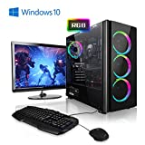 Megaport Gaming-PC Komplett-PC Intel Core i7-9700F 8x 4.7 GHz Turbo • 24' Bildschirm + Tastatur + Maus • GTX1660 6GB • 480 GB SSD • 16GB DDR4 • Windows 10 Home • 1TB • WLAN gamer pc computer high end gaming pc komplettsystem