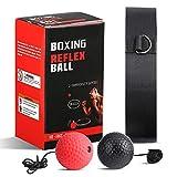 OOTO Boxing Reflex Ball Reflex Ball reflexball Boxen boxreflexball Box trainingsball boxball Stirnband boxausrüstung Training Boxer ausrüstung Boxing Fitness