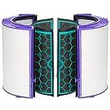 FIND A SPARE Luftreiniger-Glas-HEPA-Filter & innerer Aktivkohlefilter für Dyson Hot and Cold DP04 HP04 TP04 Heatear & Cooler Pure Cool