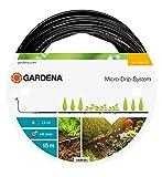 Gardena Micro-Drip-System Tropfrohr oberirdisch 4.6 mm (3/16 Zoll): Tropfschlauch zum oberirdischen Verlegen, wassersparend, hochflexibel, 15 m (1362-20)