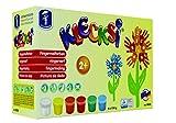 Feuchtmann 633.0626 Spielwaren 6330626 - KLECKSi 6 Dosen á 150 g hochwertige Fingermalfarben