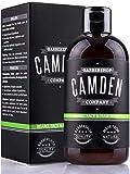 2-in-1 Bartshampoo von Camden Barbershop Company ● natürliche Bartpflege & Gesichtsreinigung ● frischer Duft ● ohne Parfüm ● 250 ml