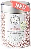 Mom to Mom® Frauenglück - Frauentee - Menstruations Tee - Wohltuend während der Periode (u.a. mit Frauenmanteltee Bio & Schafgarbe Tee) – 40g loser Bio-Tee