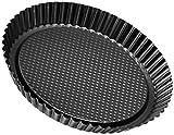 Zenker 6521 Obsttortenform Ø 28 cm, black metallic