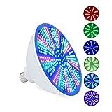 LLC - Lighting 45W RGB LED Pool Glühbirne, 12V AC Farbwechsel LED Pool Glühbirne, E26 / E27 Ersatz Inground Pool Tauchleuchte, mit Fernbedienung