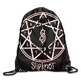 Etryrt Prämie Turnbeutel/Sportbeutel, ipknot New Wave of American Heavy Metal Drawstring Backpack Sack Bag