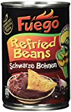 Fuego Refried Black Beans, 6er Pack (6 x 430 g)