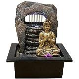 Zen'Light Zen Dao Brunnen, Harz, Bronze, 21 x 17 x 25 cm