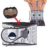 FJLOVE Rückenstütze,Rückengurt für den Lendenbereich mit 2 temperaturverstellbaren und 2 Magneten zur Schmerzlinderung und zur Vorbeugung von Verletzungen