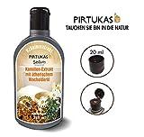 Sedum Natürlicher Saunaaufguss - Sauna-Öle für Sauna und Massage - Sauna-Aufguss Kamillen-Extrakt mit ätherischem Wacholderöl, Honig und Jodsalz - 240ml