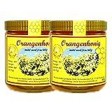 2x 500g Orangenhonig Orangenblütenhonig Orangen Honig