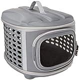 PET MAGASIN Transportbox für Katzen, kleine Hunde, Welpen und Kaninchen