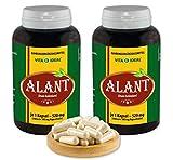 VITAIDEAL ® Alant-Wurzel (Inula Helenium) 2x360 Kapseln je 520mg, aus rein natürlichen Kräutern, ohne Zusatzstoffe von NEZ-Diskounter