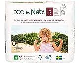 Eco by Naty, Premium-Bio‑Höschenwindeln, Größe 5, 80 Stück, 12–18 kg, aus pflanzenbasierten Materialien, frei von gefährlichen Chemikalien