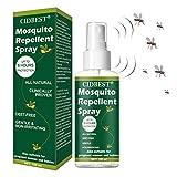 Anti Mücken Spray,Mückenschutzspray,Insektenspray,Insektenschutz,Anti Moskito Spray,Natürliche Pflanzenformel Schutz Anti Moskito Insektenschutzmittel Spray für Männer Frauen, Baby