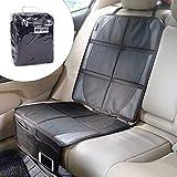 IREGRO Autositzauflage, Kindersitzunterlage, Autositzschutz, ISOFIX Geeignete Unterlage für Autositze, Wasserdichter Autositzschoner, der Beste Schutz für Ihre Autositze
