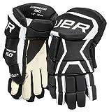 Bauer Vapor X700 Handschuhe Junior, Größe:11 Zoll;Farbe:schwarz/weiß