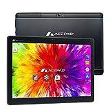 ACEPAD A121 (10.1') Tablet PC 3G, 2GB RAM, 64GB Speicher, Android 9.0 Pie, Dual-SIM, IPS HD 1280x800, Quad Core CPU, WiFi/WLAN/Bluetooth, microUSB/microSD (Alu-Schwarz)