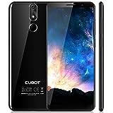 Cubot Power Android 8.1 4G-LTE Dual Sim Smartphone ohne Vertrag 5.99 Zoll (18:9) IPS FHD+ Touch Display mit 6000 mAh Akku, 6GB Ram+128GB interner Speicher, 20MP Hauptkamera / 13MP Frontkamera, Schwarz