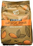 Amazon Marke - Happy Belly Ganze Mandeln, 7x200 g