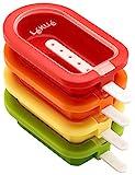 Lékué - Eisform, stapelbar, Mini, 10,5 cm, 4-teilig