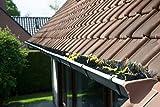 10 Meter Dachrinnenbürste 100 cm - Ø12 cm, Dachrinnenbürsten, Laubschutz, Marderschutz, Rinnenraupe, Dachrinnenschutz, Schutz vor Marder und anderen Ungeziefer