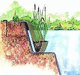 OASE 36296 Böschungstasche Jute | Jutegeflecht | Pflanzentasche | Böschungsmatte | Ufermatte | Bepflanzung